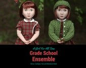 Reserved for Linda.   School Girl Ensemble created for A Girl For All Time Doll