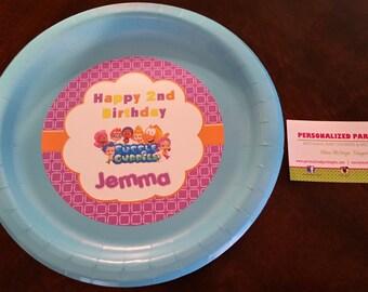 Bubble Guppies birthday plates | Bubble Guppy plates