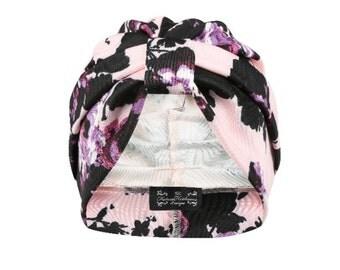 Belinda Floral Jersey Turban