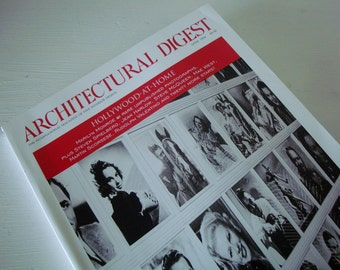 HOLLYWOOD At Home Issue-Vintage ARCHITECTURAL DIGEST Magazine from 1994