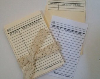 Letter and Swap Library Cards