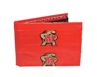 Maryland Terapins Duct Tape Wallet