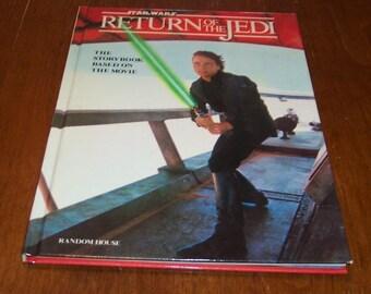 Vintage Star Wars RETURN OF The JEDI The Storybook Hardcover Book 1983 Random House