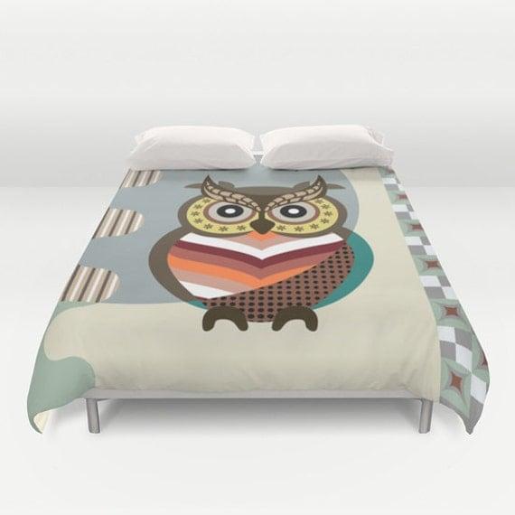 Owl Bedding Owl Bedroom Decor Bird Bedding Wise Owl Decor