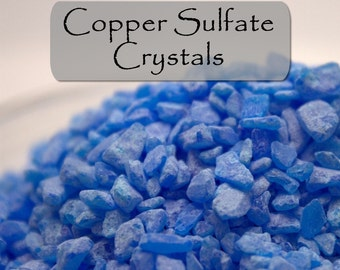 Copper Sulfate Pentahydrate Crystals - Mordant