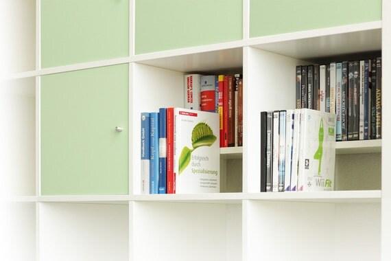 DVD / Bluray Einsatz für Ikea Kallax Regal / WEISS