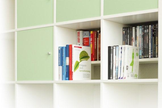 dvd bluray insert for ikea kallax shelf white. Black Bedroom Furniture Sets. Home Design Ideas