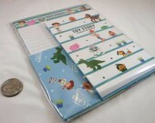 Kawaii Japan Letter Set: Pixar 2014 TOY STORY 3 Unique Japan Collectible Japan Design Characters Woody Buzz Mr Hamm Hedgehog Potato Alien