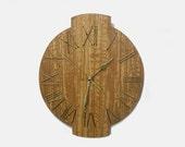 11'' wooden wall clock
