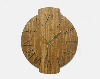 11'' wooden wall clock