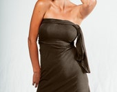 40% Off Sale-Was 60.00 Now 36.00-Multi Tie Dress-Womens clothing-wrap dress-convertible dress-womens dress-turquoise dress-womens skirt