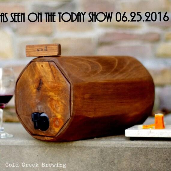 Wine Barrel, 3 QTY. - Wedding Reception - Gift Idea - Rustic Wedding Decor - Wine Decanter-QTY. 3