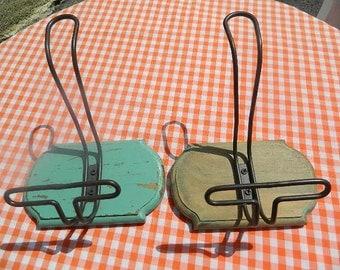 2 Old coat rack