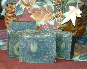 Oatmeal Pumpkin Goat Milk Soap Bar Vegetarian Exfoliating