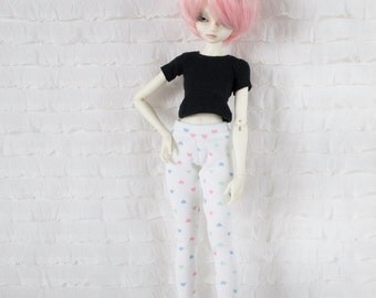 Candy hearts leggings for Fairyland chic-line dolls