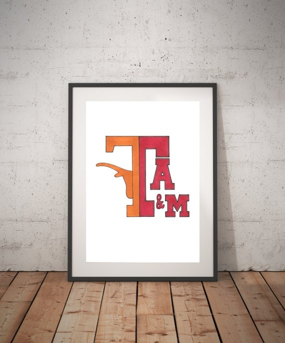house divided texas a m university of texas. Black Bedroom Furniture Sets. Home Design Ideas