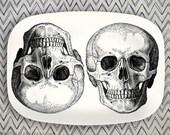 skulls no.2 melamine platter