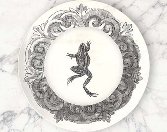 frog no. 1 melamine plate