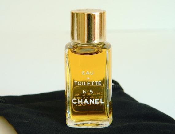 reserve mel vintage chanel no 5 perfume eau de toilette. Black Bedroom Furniture Sets. Home Design Ideas
