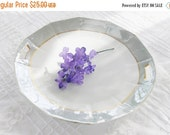 On Sale Shabby Chic/Cottage Style Green Lusterware Handled Cake Plate, Vintage, Wedding, Housewarming Gift Inspired