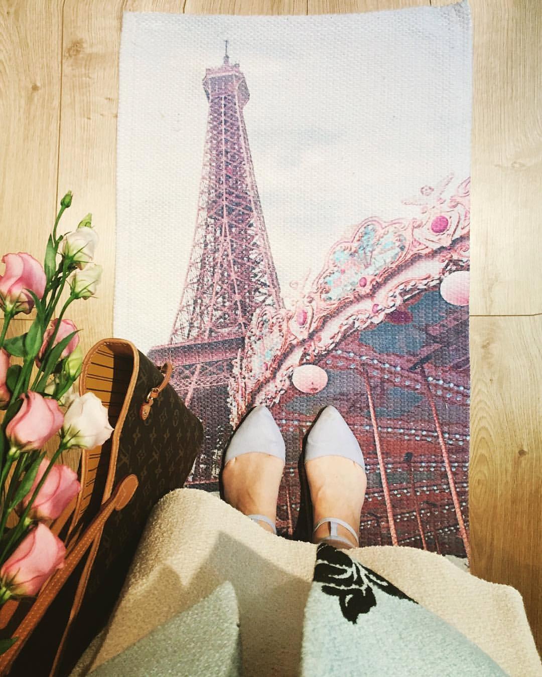 Paris Floor Rug Paris Room Decor Eiffel Tower Nursery