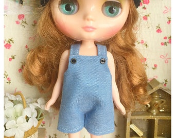 "Middie Blythe Outfit : ""Jeans Dungarees"" (Dungarees)"