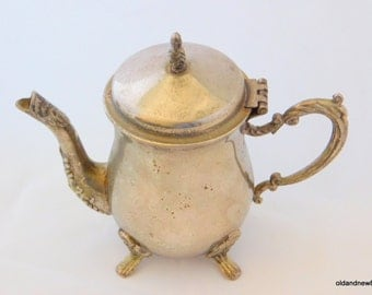 Silver Plated Small one cup Tea Pot