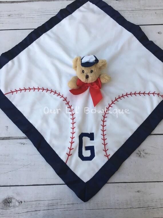 Baseball football personalized stuffed animal baby gift il570xn negle Gallery