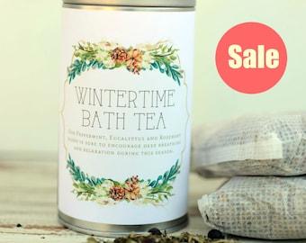 Wintertime Bath with Skin Softening Goat's Milk
