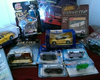 Set of 12 NASCAR and car items