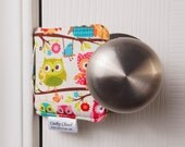 The Original Cushy Closer Door Cushion - Owls - Door Jammer