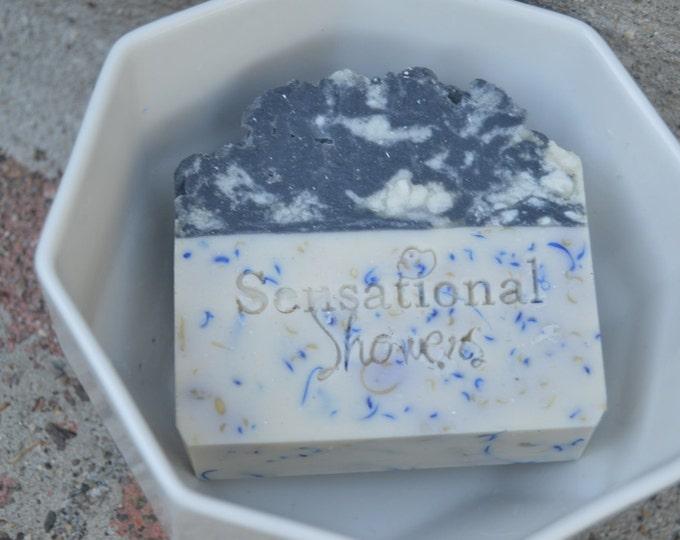 Black Raspberry Vanilla Artisan Soap Bar 5oz