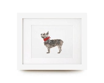 Small Terrier Print