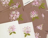 Summer Dream Hydrangea Bloom - Handmade Card