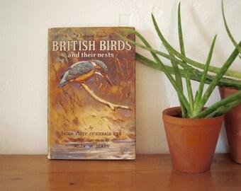 Vintage Ladybird Book - British Birds & Their Nests
