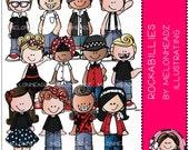 Rockabillies clip art - Combo Pack