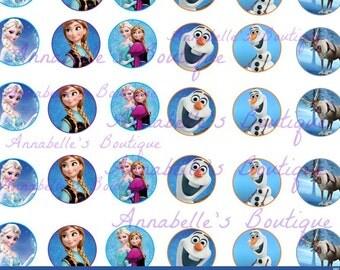 Frozen Bottle Cap Images- Digital Download