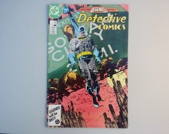 Batman / Detective comics 568 / 1986 / Vintage DC comic / copper age / dc superheroes / 80s pop culture / geekery