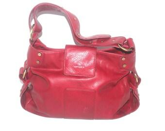 Vintage Red Samsara Bag, Purse Boho, Antique Alchemy
