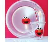 10 - Elmo Party Cups or Elmo Party Plates
