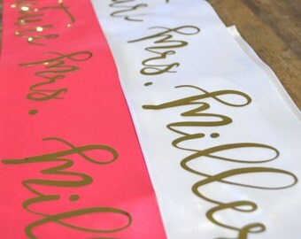 Future Mrs. Sash- bachelorette sash, bachelorette party, bride to be, wedding gift, wedding shower gift, bachelorette gift