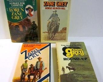 Nine Pack of Great Western Paperbacks