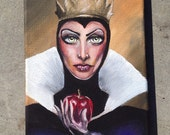 Original Painting: The Evil Queen from Snow White