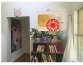 Madison Terrace Chair Painting, Acrylic on Canvas, 24x30