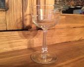 1960s Libbey - Rock Sharpe Pattern #3002-1 Liquor Cocktail Glass