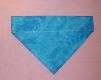 Over-The-Collar Dog Bandana | Cloudy Blue