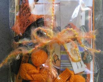 Halloween Ephemera Inspiration Kit for Srapbook-Junk Journal-Art Journal-Collage
