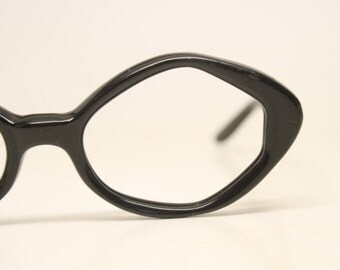 Vintage Glasses Frames Black Diamond vintage Eyeglass Frames 1970s Retro Eyeglasses