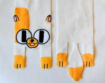 Cake the Cat from Adventure Time Scarf for Cosplay or Everyday