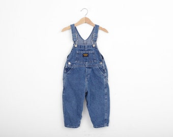 Vintage OshKosh Overall Dungarees 24 Months
